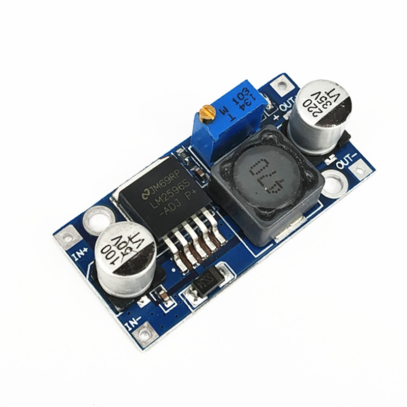 LM2596 voltage regulator DC-DC step-down power module 3A adjustable step-down module LM2596S