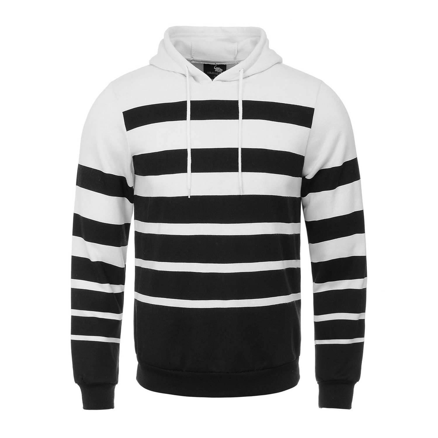 Online Get Cheap Mens Black and White Striped Sweatshirts ...