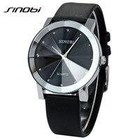 Brand New Luxury SINOBI 981 Casual Diamond Male Elegant Female Clock Man Woman Lady Wrist Watches