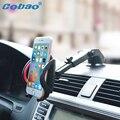 Sostenedor del teléfono del coche universal soporte ajustable de 360 grados del parabrisas del teléfono móvil titular de montaje para iphone 5 6 plus samsung htc
