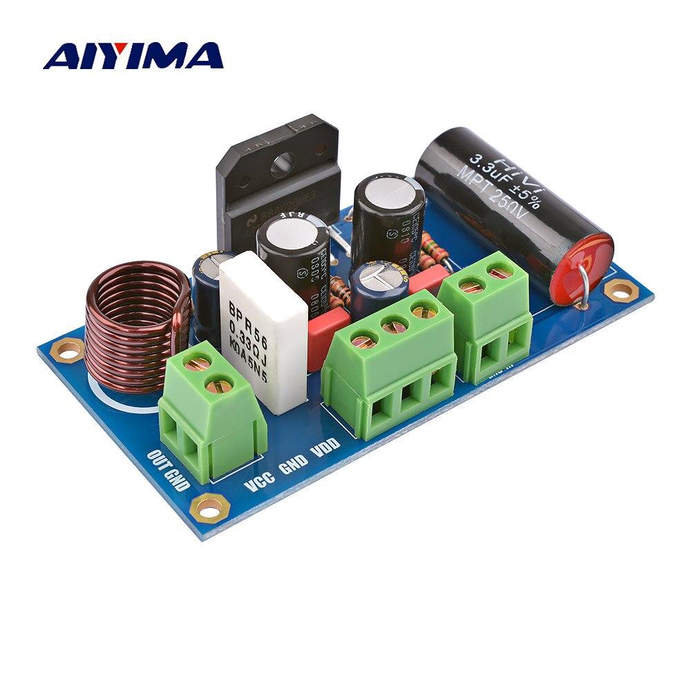 AIYIMA 1 Uds 60W LM3886TF Mono placa amplificadora de potencia Amplificador GC versión placa de Amplificador de audio BTL Amp