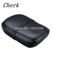 Cherk Motorcycle Synthetic Leather Pillion Rear Passenger Cushion Seat For Honda Shadow VT750 ACE VT750C VT750CD 1998 2003