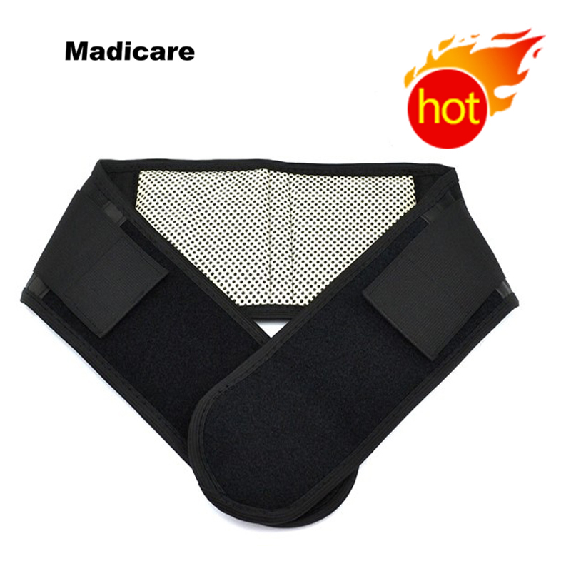 Réglable Taille Tourmaline Thérapie Magnétique L'auto-Chauffant Ceinture de Soutien de Dos Ceinture Élastique Brace Appui De Taille De Massage