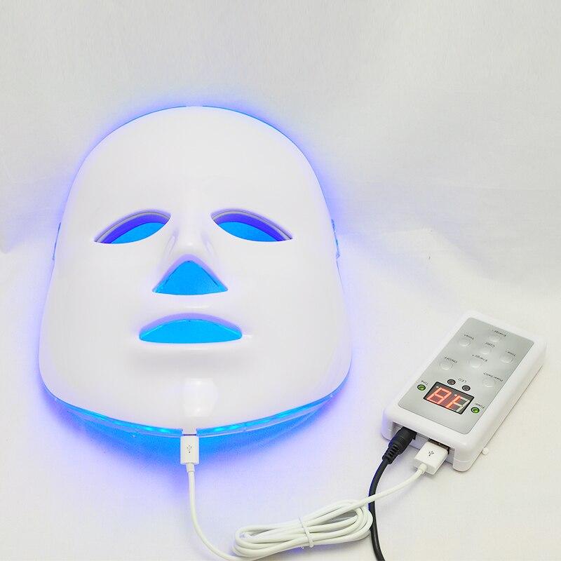 Nouveau masque Facial photodynamique LED usage domestique Instrument de beauté Anti-acné rajeunissement de la peau LED masque photodynamique de beauté
