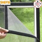 SMAVIA Hot Sale DIY Summer Anti-Mosquito Window Net Fiberglass Encryption Insect Mosquito Mesh Screen Fixed by Magic Sticker