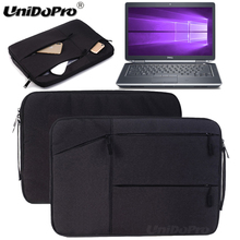 Unidopro Notebook Sleeve Briefcase for Dell Inspiron 15 3000 15.6 Inch HD Touchscreen i5-5200U Laptop MalletteCarrying Bag Cover(China)