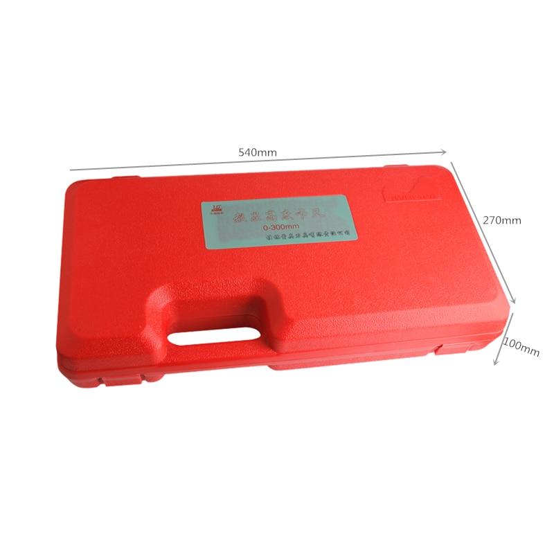SHAN 0 300 мм прецизионный цифровой датчик высоты из нержавеющей стали Электронный штангенциркуль дюймов/мм измерительные инструменты - 5