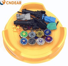 Beyblade arena stadium Metal Fusion 4D Freies System Battle Metal Top Fury Masters launcher and grip children toy