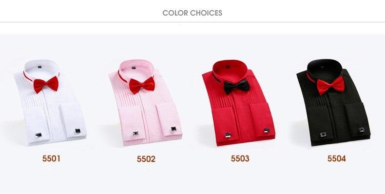 vestido de camisa dos homens cor sólida