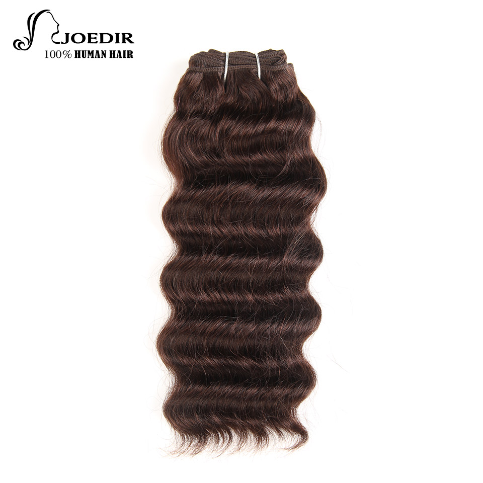Joedir Pre-colored Indian Deep Wave Human Hair Bundles 100g Honey Blonde Hair Weave 1 Bundle 27# Hair Extensions Wide Selection; Human Hair Weaves