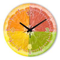 Modern Lemon Wall Clock Decoration Kitchen Wall Clocks Guess Watch Mechanism Pow Patrol Relogio Parede Decor Glass & Crystal