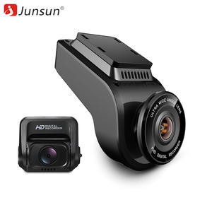 Junsun 4 K Ultra HD Car Dash Cam WiFi Rear Camera Night Vision GPS Dual Lens Dashcam