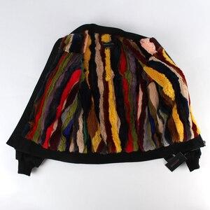 Image 5 - JAZZEVAR2019 New outono inverno moda de rua Mulheres jaqueta bomber zipper jaqueta básica cusual algodão outerwear boa qualidade 86220