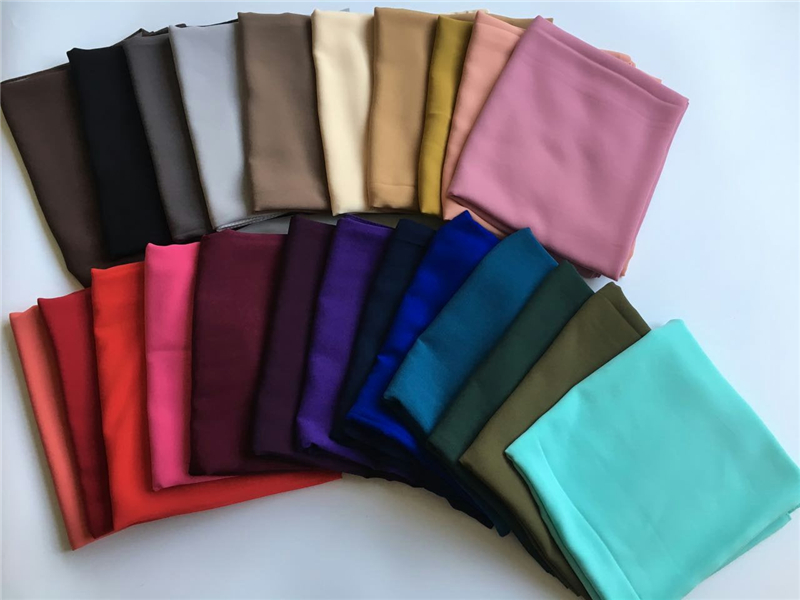 100pc/lot High quality plain bubble chiffon scarf solid color shawl headband popular hij ...