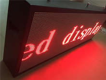 3.75 SMD single red color Water proof  cabinet display, 1R,16scan,44321dots/m2