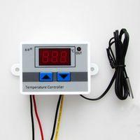 1PCS 24V Digital LED Temperature Controller 10A Thermostat Control Switch Probe