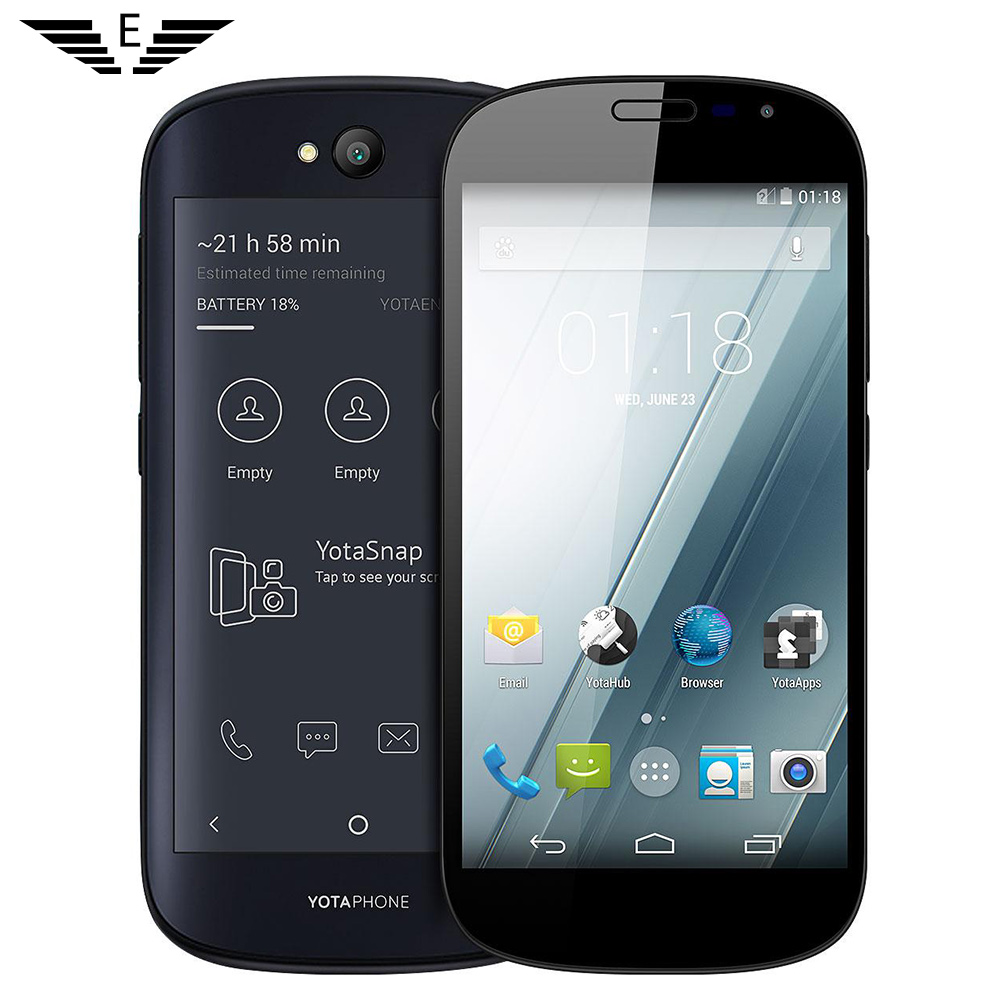 Original Russian YOTA YOTAPHONE 2 4G LTE smartphone 4.7 ...