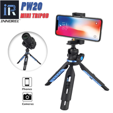 Foldable Table top Mini Camera Tripod PW20 Portable Tripod used for  Travel Selfie Compact  DSLR Camera z09 convenient mini portable plastic tripod for camera orange