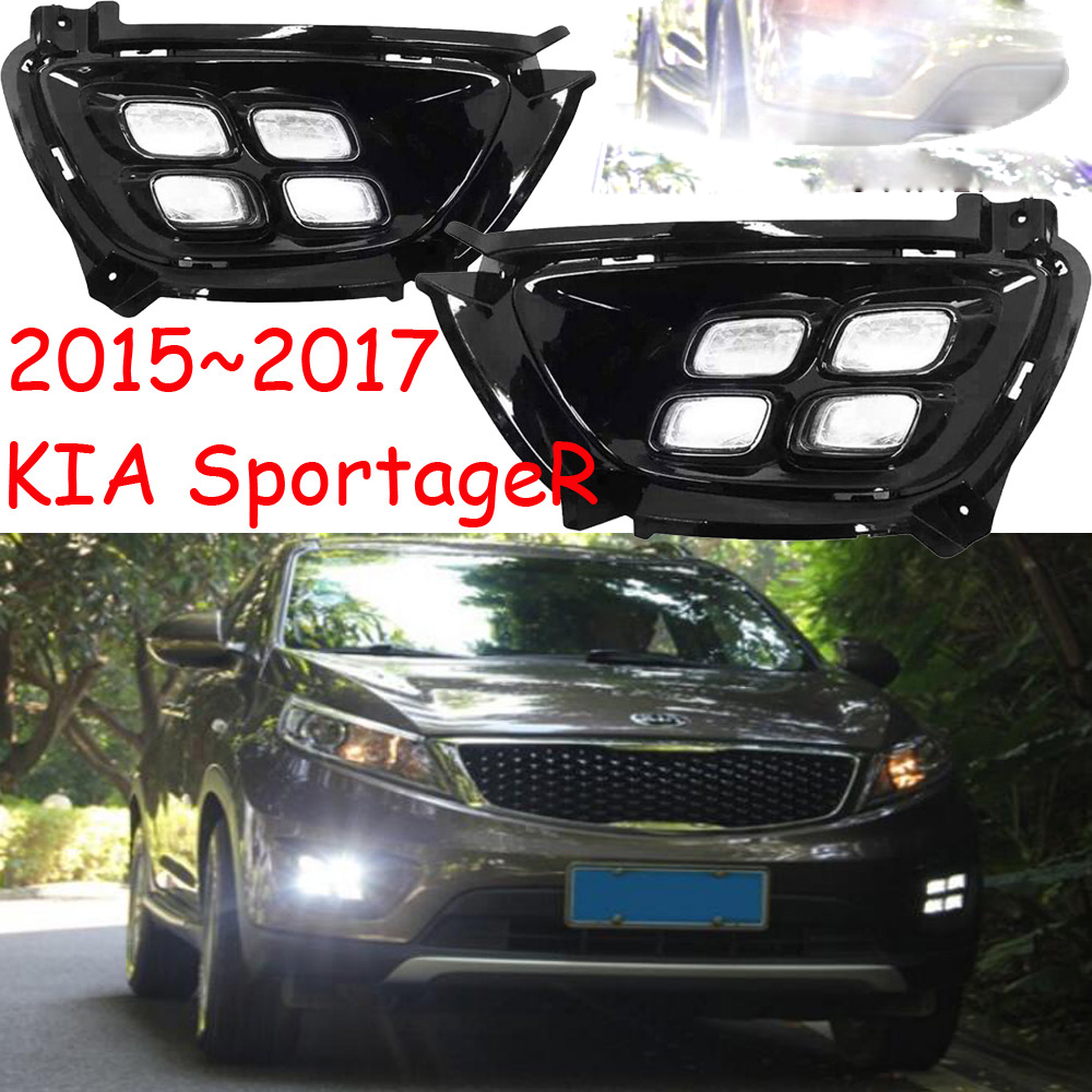 LED,2015~2018 KlA SportageR daytime Light,SportageR fog light,SportageR headlight;soul,spectora,k5,sorento,kx5,Sportage R