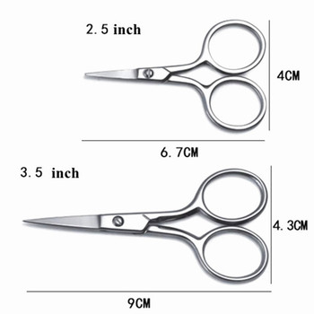 50 pcs 6.7--15 cm Japan small hair scissors nose trimmer haircut daily shears eyebrow cutting barber makas hairdressing scissors