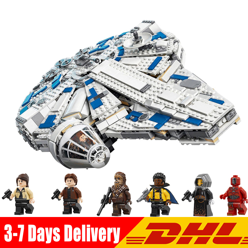 2018 New Lepin 05142 Star War The Legoings 75212 Kessel Run Millennuim Falcon Set Building Blocks Bricks Kid Toys Gifts