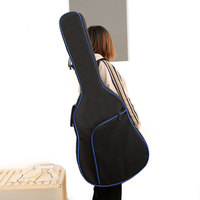 Thicken Folk Flattop Balladry Steel string Acoustic Classical 41 inch Guitar Bag Case Backpack Accessories Carry Gig