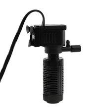 3 in 1 Mini Internal Filter Multi-function Aquarium Filter Fish Tank Submersible Filter Pump Waterfall Spray Bar Circulation