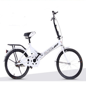 20-Inch Single-Speed Folding Shock-Absorbing 2019 New Hot Money Bicycle For Adult Male And Female Students