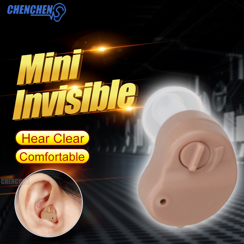 Micro Ear Hearing Aid Mini CIC Wireless Hearing Aid For Elderly Deaf Invisible Sound Amplifier Invisible Hearing Device