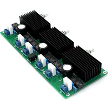 все цены на TDA7498 DC24V 6*100W 6-8ohm Class D Six-Channel Aower Amplifier Board онлайн