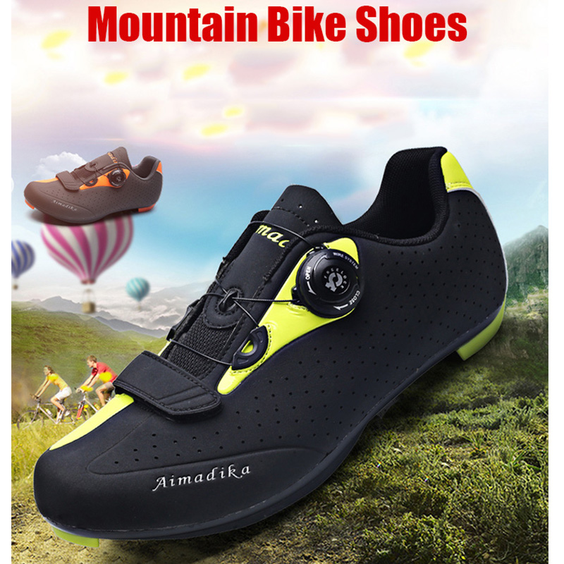 HYFMWZS Krasovki Men 2018 Bicycle Shoes MTB Shoes Men Road Cycling Shoes Mountain Bike Shoes Sapatilha