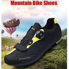 HYFMWZS красовки мужские велосипедные ботинки MTB обувь Мужская обувь для шоссейного велоспорта обувь для горного велосипеда Sapatilha Ciclismo Mtb Sepatu Mtb