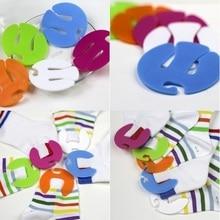 Sock-Holder Clip Colorful 50pcs/Lot Sorters-Locks-Clips Laundry-Storage Circle-Shape