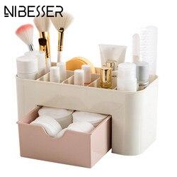 NIBESSER 2017, женский косметический чехол, набор для макияжа, косметический набор, чехол для хранения, пластиковая коробка для косметических кис...