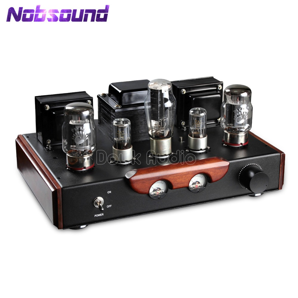 Nobsound HiFi PSVANE KT88 Valve Vacuum Tube Amplifier Single-ended Class A Stereo Power Amp 2018 latest nobsound hi end 6n8p push pull psvane kt88 valve tube amplifier hifi stereo class a large power 45w 2 amplifier