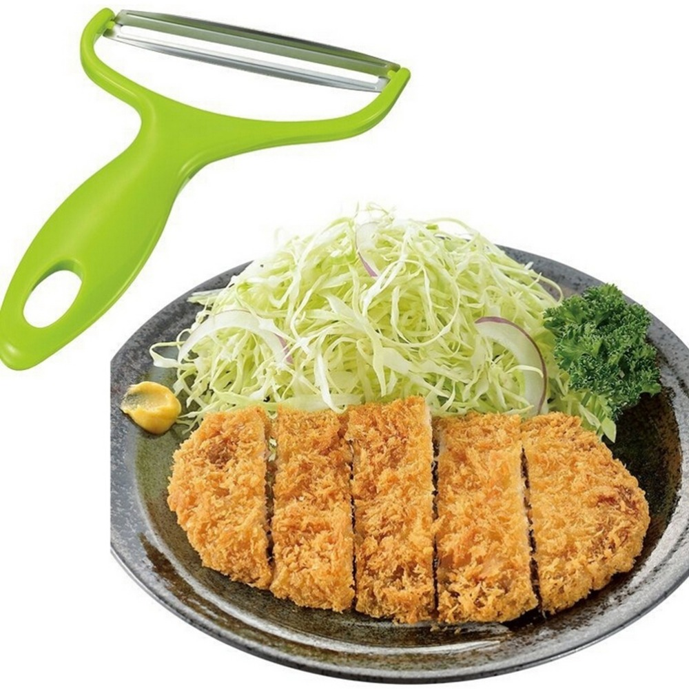 1Pcs Newest Product font b Salad b font Vegetables Peelers Stainless Steel Knife Cabbage Wide Mouth