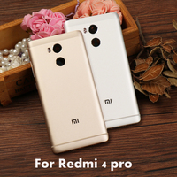 Redmi4 Pro Official Original Housing Replacement Parts Metal Back Battery Cover Phone Case For Xiaomi Redmi