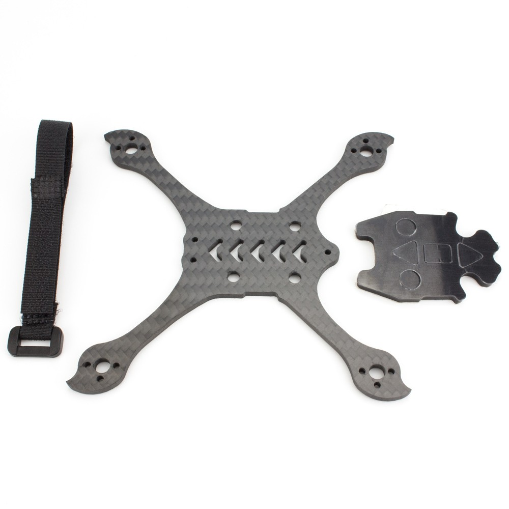 Image 3 - Babyhawk Race Pro 2.5 Parts Bottom Plate Pack ,Nonslip Pad And Battery Strap-in Parts & Accessories from Toys & Hobbies