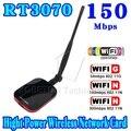 Lo nuevo N9000 Conexión Gratuita A Internet de Alta Velocidad Inalámbrico Adaptador WiFi USB 150 Mbps de Largo Alcance + Antena Wi fi Wi-fi Antena Del Receptor 58dbi