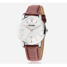Hot sale Brand EIKY 10M Waterproof  leather cute love watch diamond Lady Watch for Woman Quartz Watch 8608