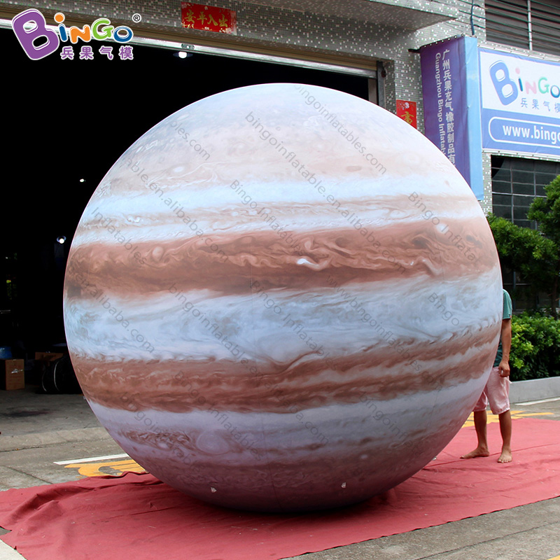 FACTORY OUTLET customized high quality PVC 10 feet inflatable Jupiter balloon / decoration for big partyFACTORY OUTLET customized high quality PVC 10 feet inflatable Jupiter balloon / decoration for big party