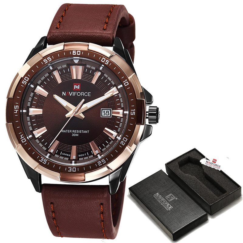 online get cheap fashionable watches aliexpress com alibaba group fashion watches men 2017 naviforce top brand luxury military sport clock male waterproof leather quartz watch
