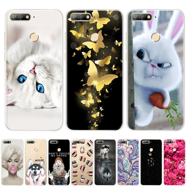For Huawei Honor 7C Case Cover 5.7