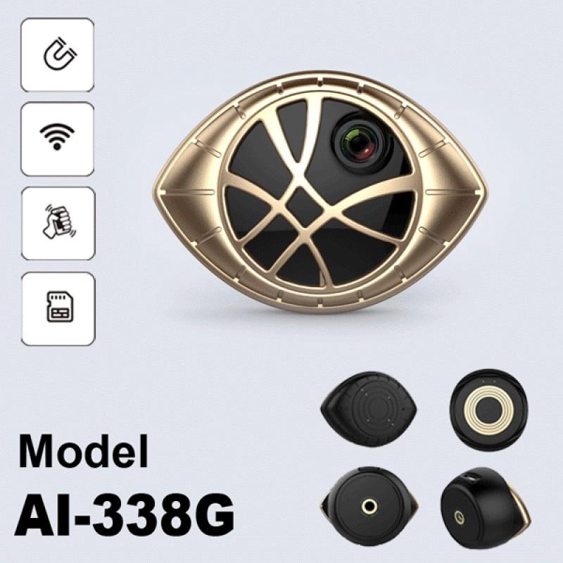 Golden Version Super Mini Portable Magnetic WiFi Security DVR Camera Motion Detection Magnetic Bracket Universal Installation