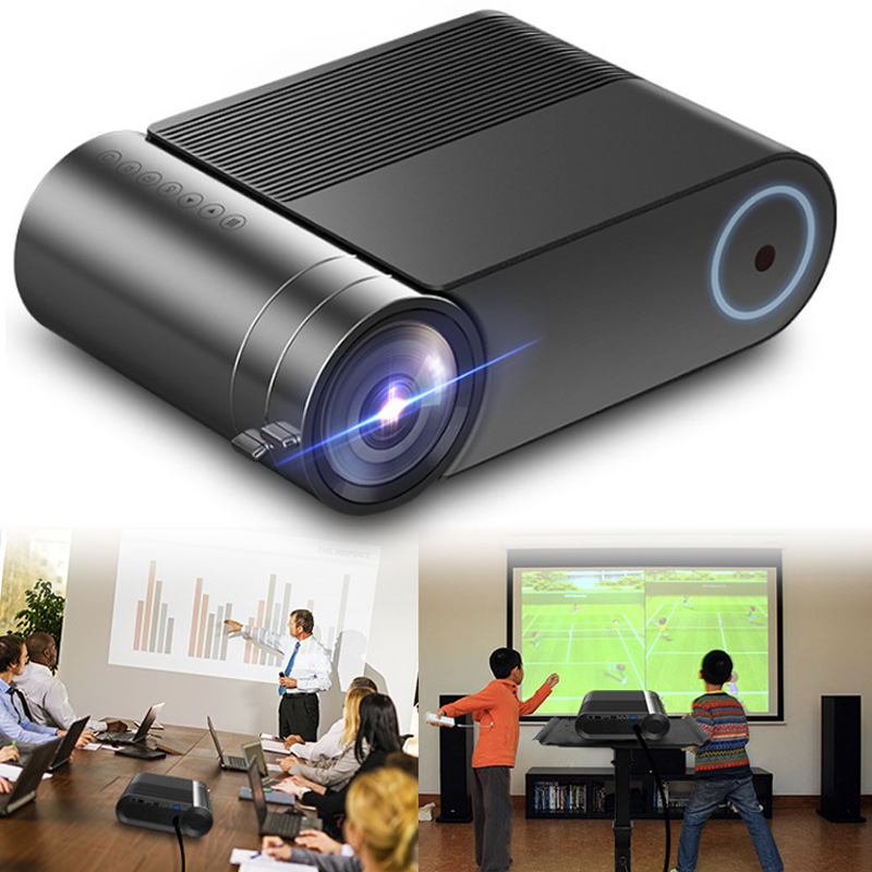 HOT Portable HD LED Projector 720P Household Home Theater Movies Beamer for Office Conference BUS66(China)