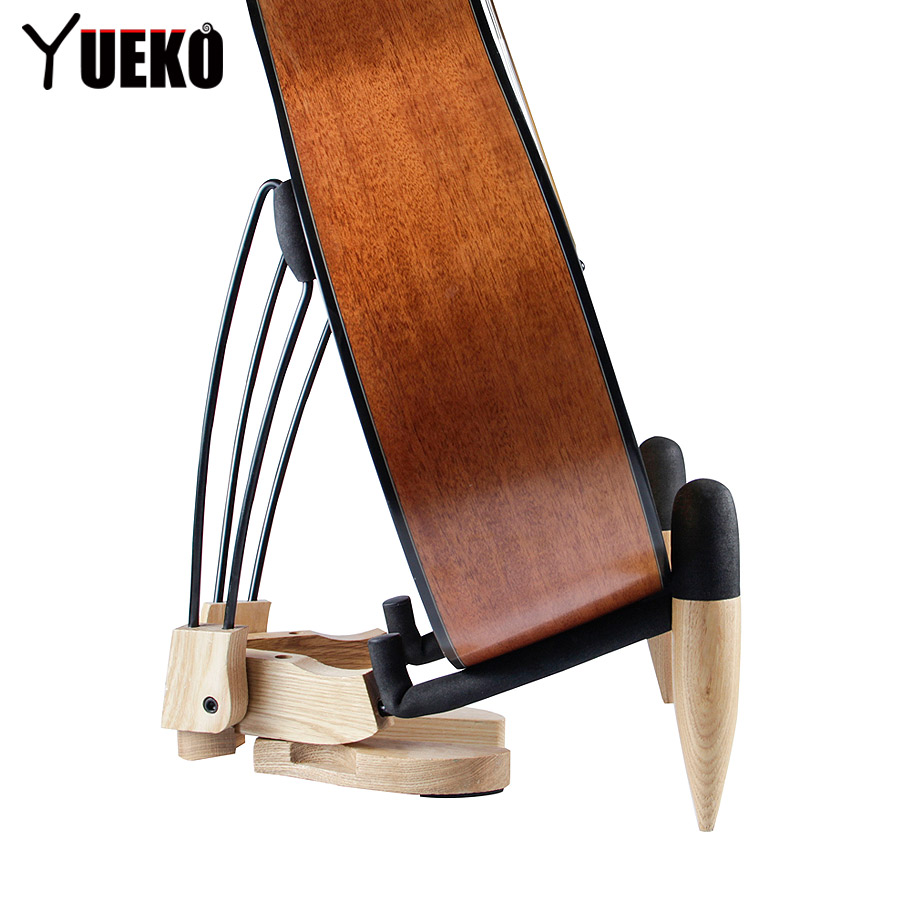 Guitar Stand/innovative design natural wood guitar stand High-end stand kicx icq 301bxa