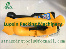 LX-PACK Lowest factory price Battery Power Strapping machine Electric Plastic battery strapping tool for plastic PET strapping