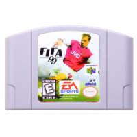 N64Game FIFA99 Video Game Cartridge Console Card English Language US Version