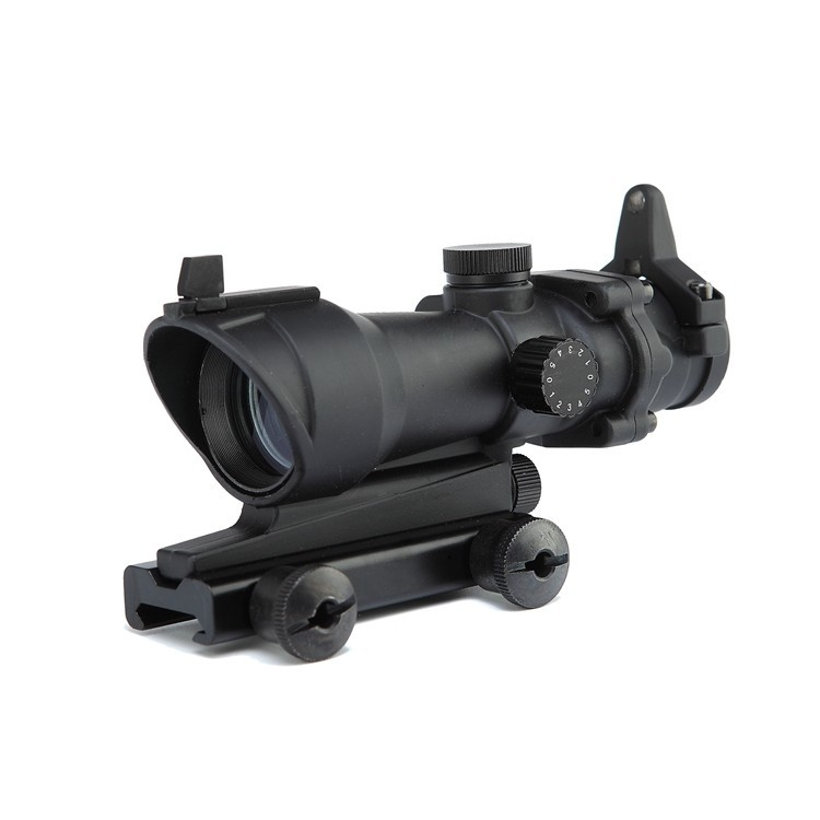 Hot Sale Hunting Tactical Riflescope ACOG Type 1x32 Red Green Dot Rifle Sight Scope With 22mm