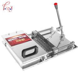 Полуавтоматическая одежда баранины струнная машина бизнес ручной износ баранины струнная машина высокая эффективность 1 шт